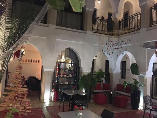 里亞德沙尼瑪水療庭院旅館 - 馬拉喀什 - 馬拉喀什 - 櫃檯