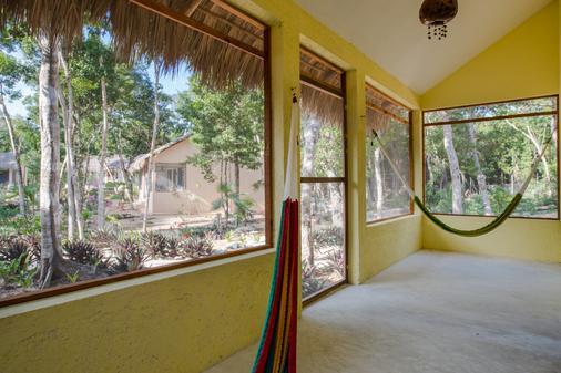 Maya Eco Village - Akumal - Balcony