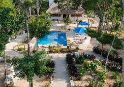 Maya Eco Village - Akumal - Outdoors view