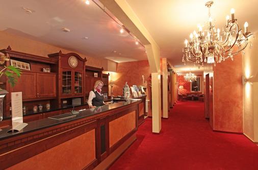 Romantik Hotel Scheelehof - Stralsund - Lễ tân