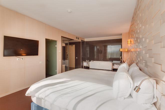 DoubleTree by Hilton Hotel Cluj - City Plaza - Κλουζ-Ναπόκα - Κρεβατοκάμαρα