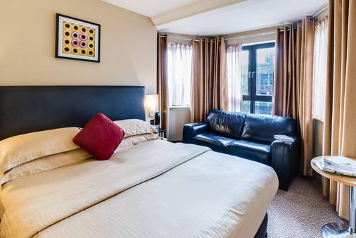 學院廣場酒店 - 都柏林 - 都柏林 - 臥室