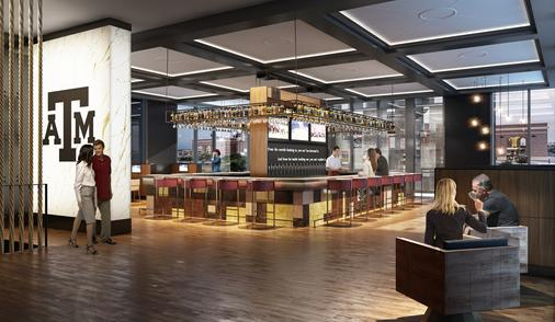 Texas A&M Hotel and Conference Center - College Station - Bar