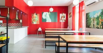 Red Nest Hostel - Valencia - Restaurante