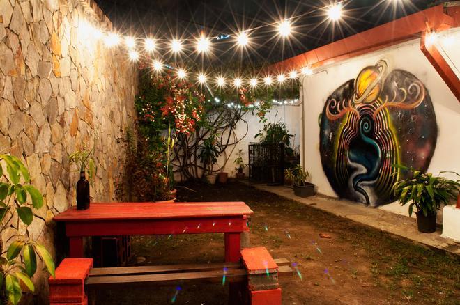 La Hamaca Hostel - San Pedro Sula - Innenhof
