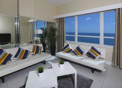 New Point Miami Beach Apartments - Miami Beach - Pokój dzienny