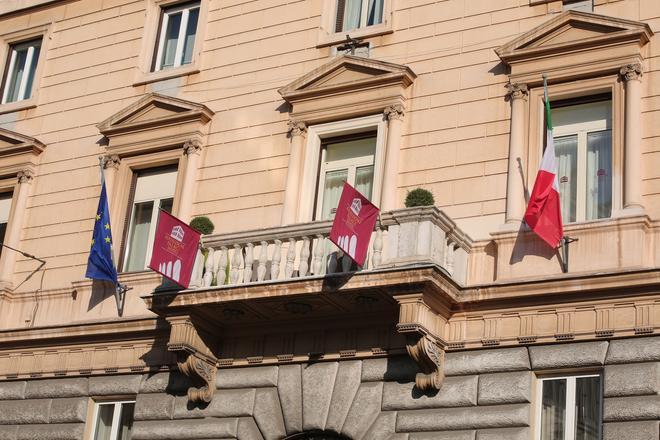 Esposizione Palace Hotel - Rome - Building