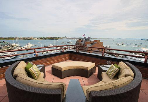 Boston Marriott Long Wharf - Boston - Balcony