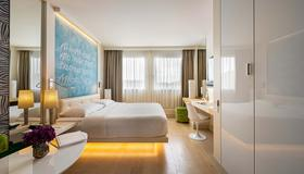 Hotel N'vY Manotel - Ginevra - Camera da letto