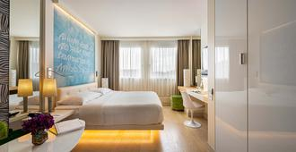 Hotel N'vY Manotel - ג'נבה - חדר שינה