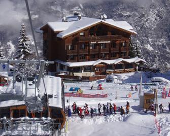 Hôtel Les Flocons - Saint-Bon-Tarentaise - Здание