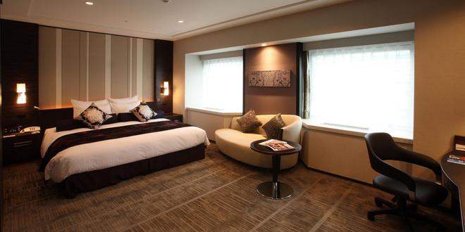 Ana Crowne Plaza Fukuoka - Fukuoka - Bedroom