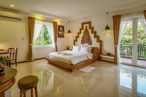 Les Bambous Luxury Hotel - Siem Reap - Bedroom