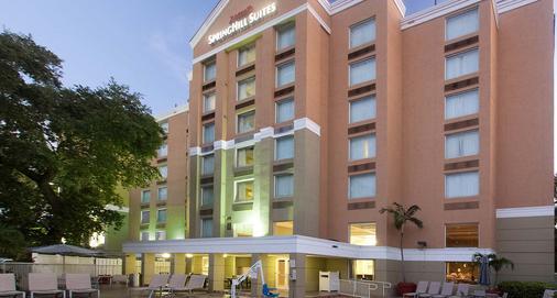 SpringHill Suites by Marriott Fort Lauderdale Airport & Cruise Port - Dania Beach - Rakennus