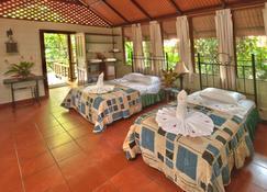 Aninga Lodge - Tortuguero - Bedroom