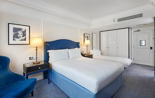 倫敦華爾道夫希爾頓酒店 - 倫敦 - 倫敦 - 臥室