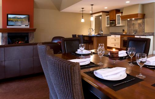 Solara Resort and Spa - Canmore - Ruokailuhuone