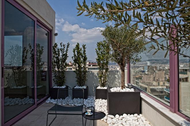 Novus City Hotel - Athens - Patio