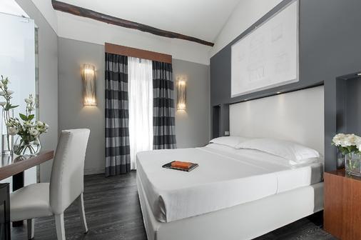 Hotel Metropolis - Rome - Bedroom