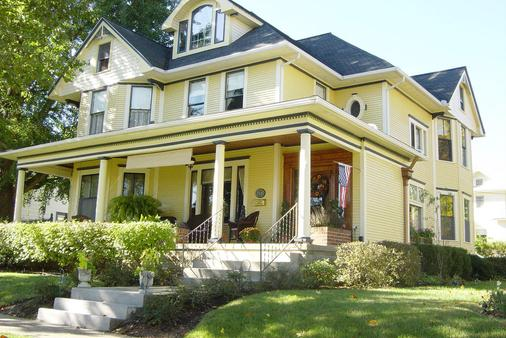The Harkins House Inn Bed & Breakfast - Caldwell - Building