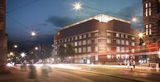 W Amsterdam - Am-xtéc-đam - Toà nhà
