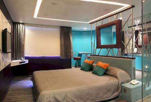Hotel Tacubaya & Autosuites - Mexico - Makuuhuone