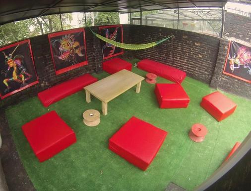 Roomies Hostel - Πόλη του Μεξικού - Μπαλκόνι
