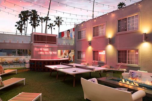 肯尼維尼斯海灘酒店 - 馬里納德雷 - 洛杉磯 - 天井