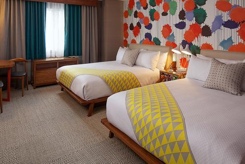 肯尼維尼斯海灘酒店 - 馬里納德雷 - 洛杉磯 - 臥室