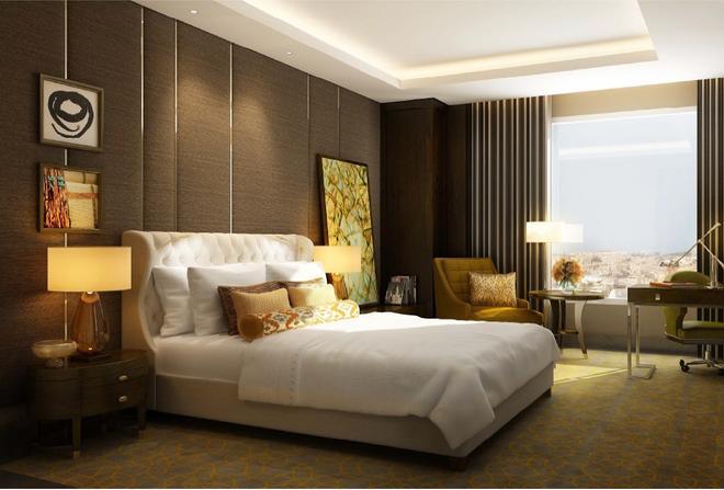 安曼費爾蒙飯店 - 安曼 - 臥室
