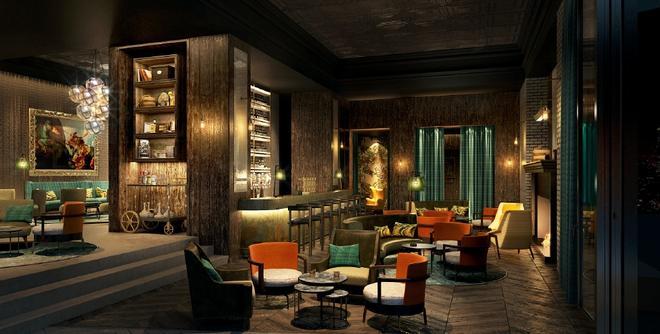 安曼費爾蒙飯店 - 安曼 - 酒吧