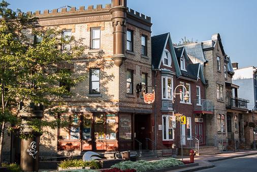 Auberge Château des Tourelles - Thành phố Quebec - Toà nhà