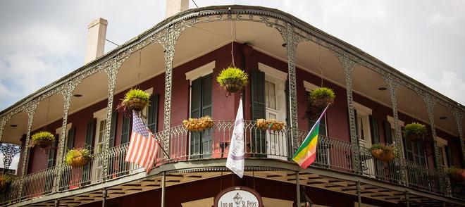 聖彼得酒店 - 新奥爾良 - 紐奧良 - 建築