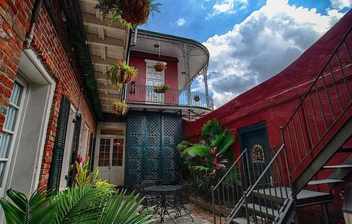 Inn On St. Peter - New Orleans - Patio