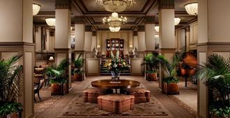 Francis Marion Hotel - צ'רלסטון - לובי