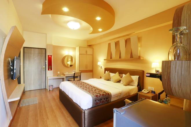 月光酒店 - 加德滿都 - 加德滿都 - 臥室