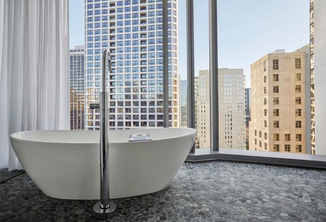芝加哥總督酒店 - 芝加哥 - 浴室