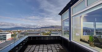 Hotel Island - Reykjavik - Balcone