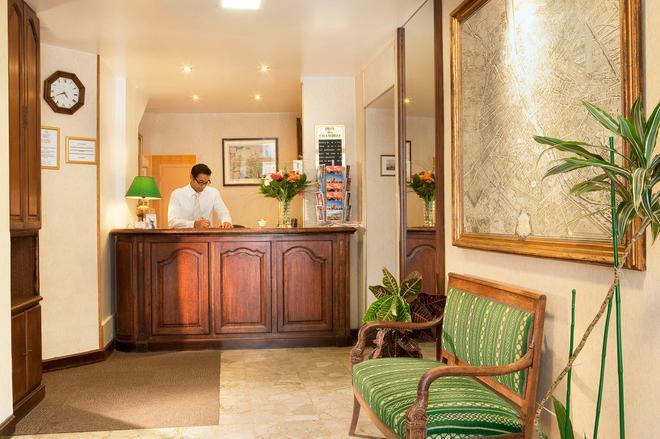 Hotel Les Deux Gares - Paris - Rezeption
