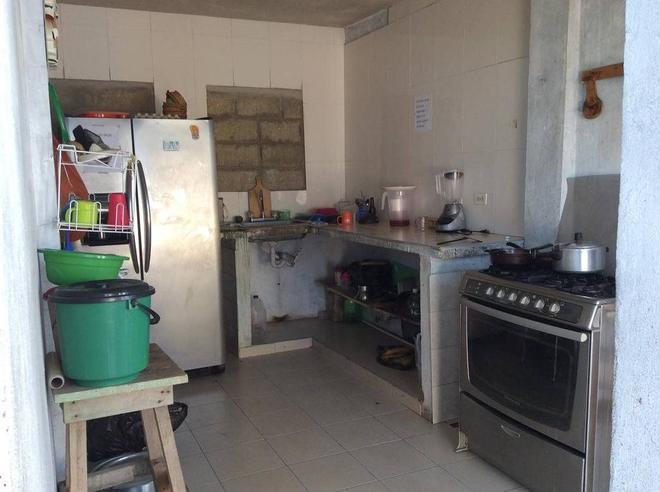 卡薩特瑞斯瑞民宿 - 卡塔赫納 - 廚房