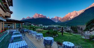 Berghotel - Sexten - Sesto - מסעדה