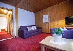 Hotel Monika & Montafon Chalets - Gaschurn - Σαλόνι