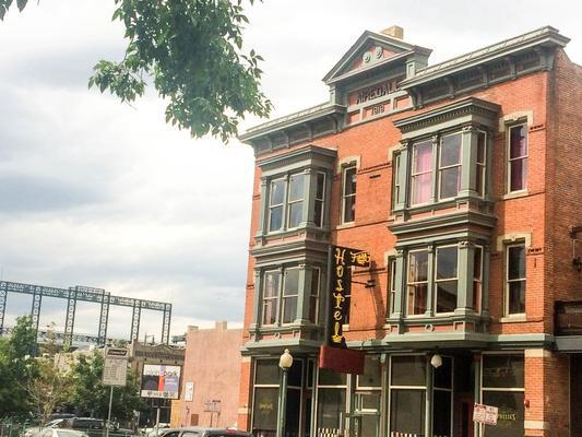 Hostel Fish - Denver - Toà nhà