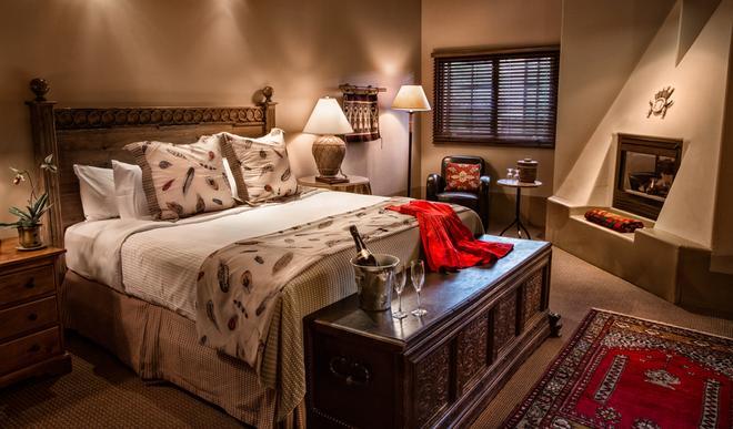 The Hacienda & Spa at Hotel Santa Fe - Santa Fe - Bedroom