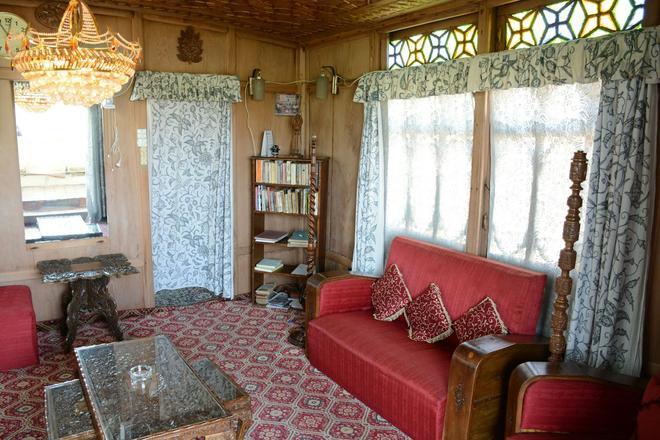 Houseboat Zaindari Palace - Srinagar - Living room