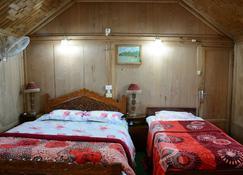 Houseboat Zaindari Palace - Srinagar - Bedroom