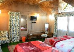 Houseboat Zaindari Palace - Srinagar - Phòng ngủ