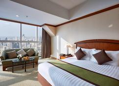 Baiyoke Sky Hotel - Băng Cốc - Phòng ngủ