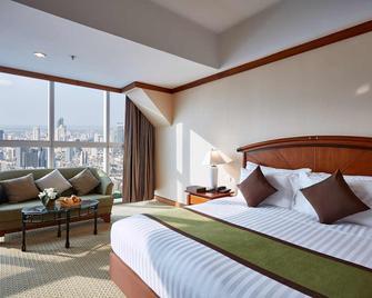 바이욕 스카이 호텔 - 방콕 - 침실