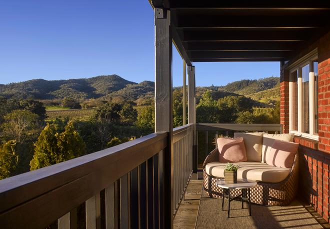 Vintage House - Yountville - Balcony